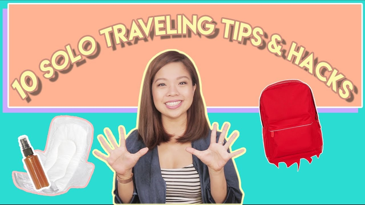 10 SOLO TRAVELING TIPS AND HACKS | PrettySmart