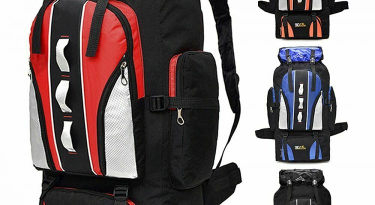 100L Outdoor Sporting Bag Hiking Camping Backpack Travel Trekking Day ...