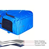 Bekahizar Lightweight Foldable Backpack 35L Ultralight Packable Daypack Durable for Traveling Day Trips exterior Sports Hiking Trekking Camping Cycling (Blue) - I4U2Jb