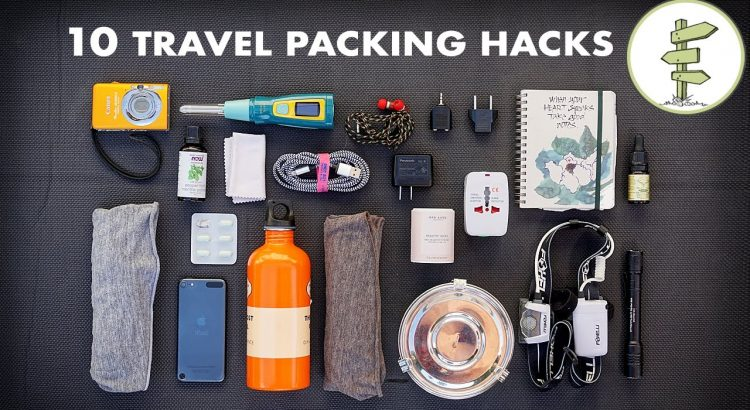 10 Important Travel Packing Recommendations & Hacks - Minimalist Traveling - 10 essential travel packing tips hacks minimalist traveling 750x410