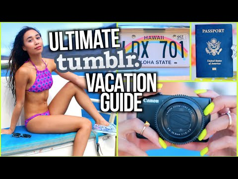 Things To Pack On Holiday! Airplane Essentials/Tips + Outfits! - what to pack on vacation airplane essentials tips outfits