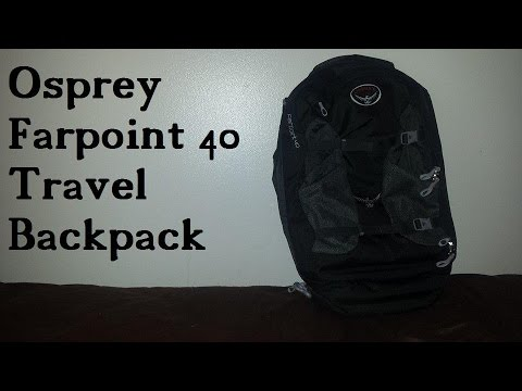 Osprey Farpoint 40 Travel Backpack Review - Airline Approved! - osprey farpoint 40 travel backpack review airline approved