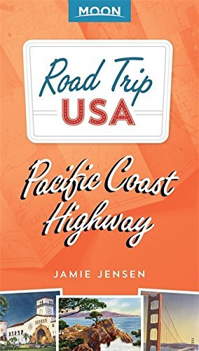 travel book cover - Road Trip USA Pacific Coast Highway - Jamie Jensen