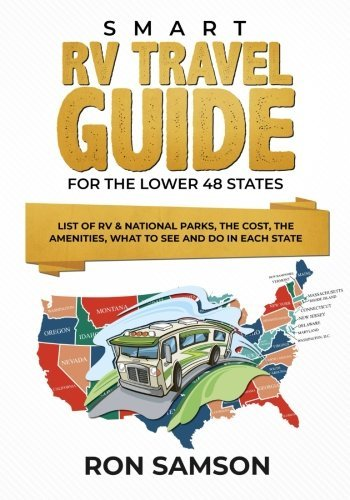 travel book cover - Smart RV Travel Guide For The Lower 48 States: List of RV & National P... - Ron Samson