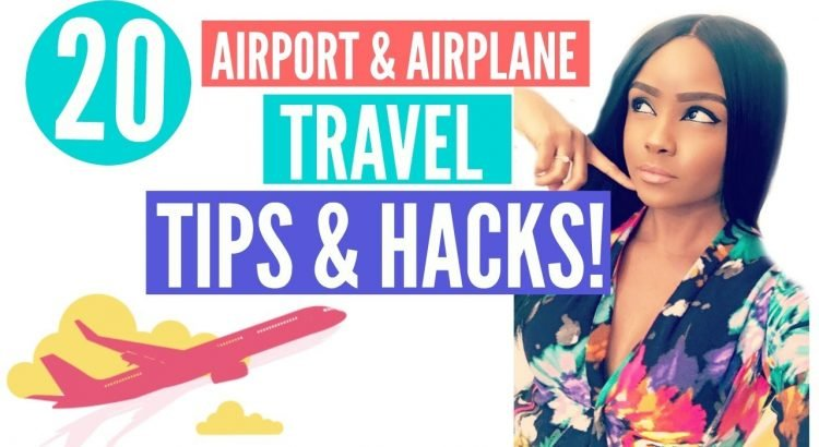 20 Airport & Airplane Travel RECOMMENDATIONS & HACKS! | From A Flight Attendant - 20 airport airplane travel tips hacks from a flight attendant 750x410