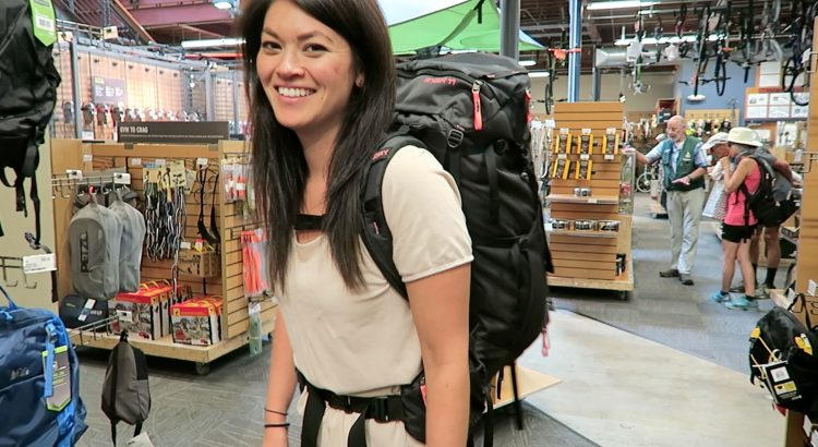 SELECTING A BACKPACK // Preparing for long haul Travel # 4 - choosing a backpack preparing for long term travel 4 750x410