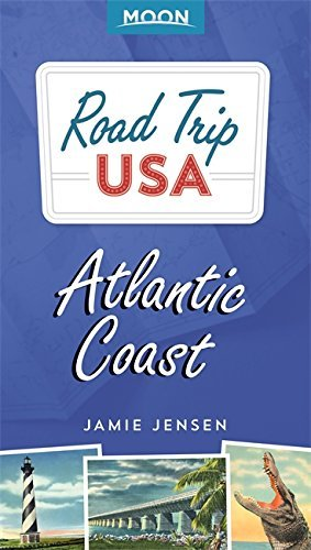 travel book cover - Road Trip USA: Atlantic Coast - Jamie Jensen