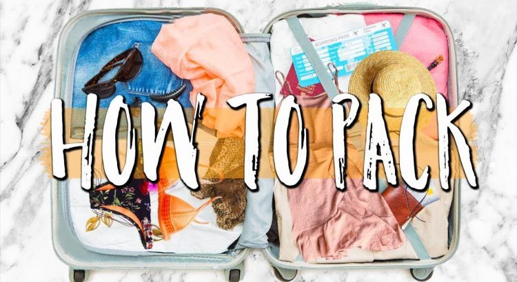 TRAVEL GUIDELINES: Packing Hacks, Recommendations & Essentials - TRAVEL TIPS Packing Hacks Tips Essentials 750x410