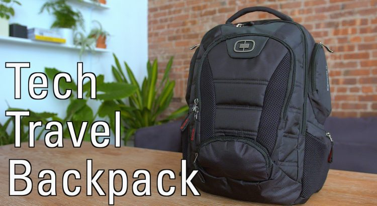 What is in my own Tech Travel Backpack 2.0! - Whats in my Tech Travel Backpack 2.0 750x410