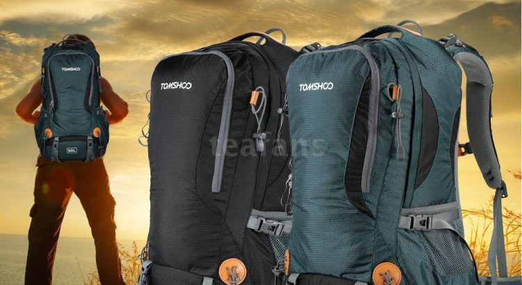 50L Outdoor Hiking Camping Climbing Travel Backpack Pack Bag Water Bac...