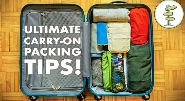Minimalist Packing Tips & Hacks - Travel Light With Only Carry-On Lugg... - Minimalist Packing Tips Hacks Travel Light With Only Carry On Lugg 750x410