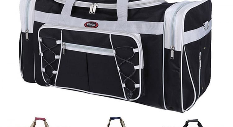 "New 26"" Heavy Duty Tote Gym Sports Bag Duffle Travel Carry Shoulder Ba..."