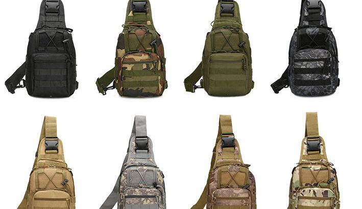 Outdoor Shoulder Military Tactical Backpack Travel Camping  Hiking Tre...
