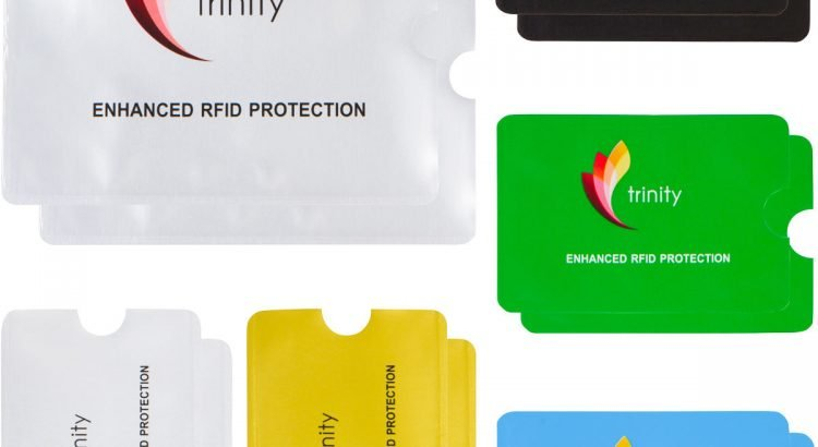 RFID High Level Blocking Sleeves (10 Credit Card & 2 Passport) Ant...