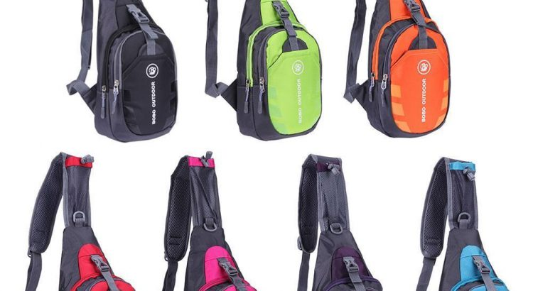 Waterproof Unisex Chest Bag Outdoor Sport Travel Shoulder Sling Backpa...