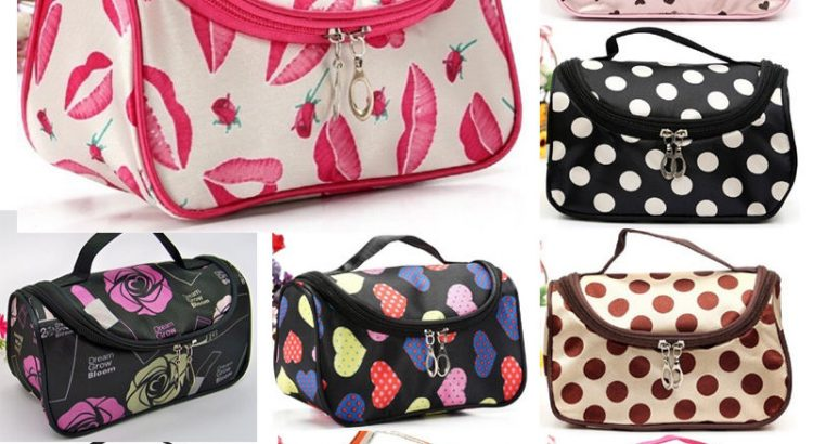 Multifunction Makeup Case Women Travel Cosmetic Bag Pouch Toiletry Org...