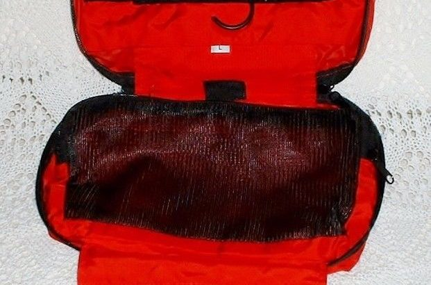 Outdoor Research Hanging Red Travel Shaving/Toiletry Kit