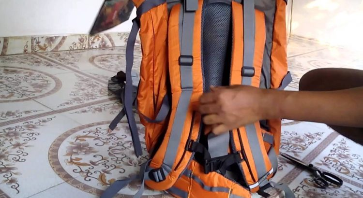 Wildcraft Alpinist 55 Orange Rucksack Backpack 55L unboxing from snapd...