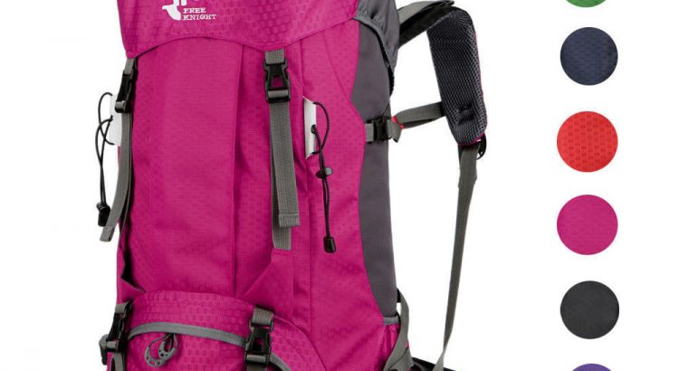 60L Outdoor Unisex Sport Backpack Hiking Camping Luggage Rucksack Wate...