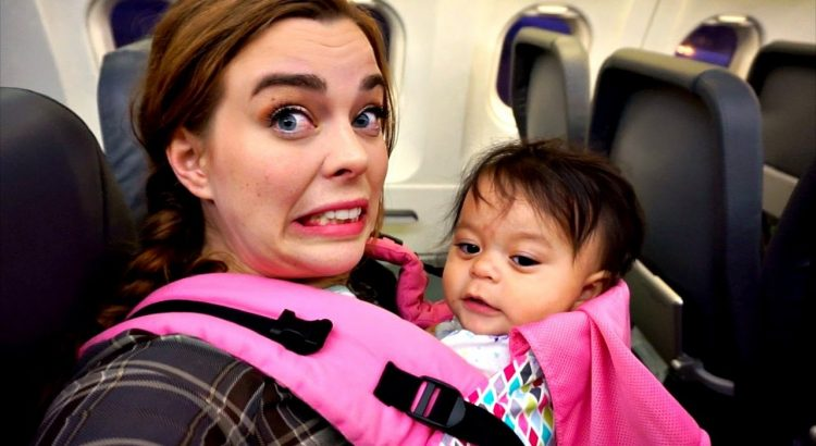 FLYING ALONE WITH BABY | Vlogger Fair
