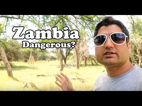 Lusaka Zambia Crazy Travel Experience | Video Not Allowed in City
