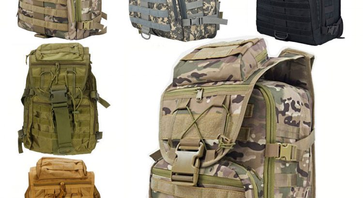 New Outdoor Military Tactical Backpack Hiking Camping Trekking Rucksac...
