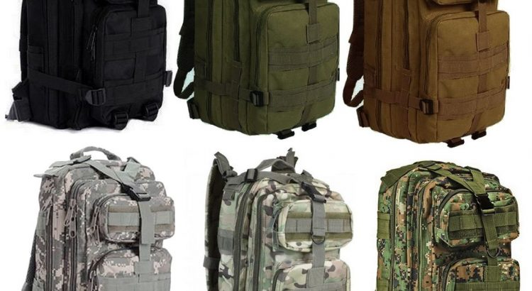 Tactical Compact Level 3 Full Featured Assault Pack Backpack 3 Day Bug...