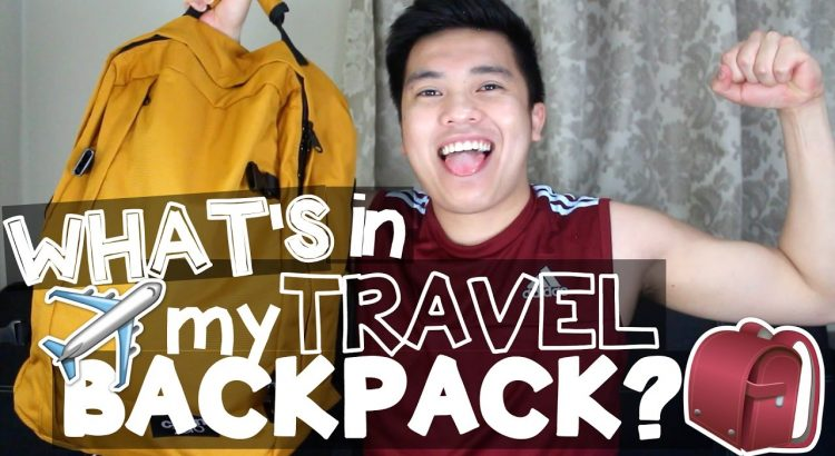 WHAT'S IN MY TRAVEL BACKPACK?