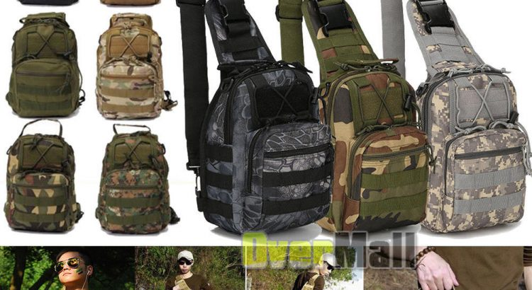 Outdoor Shoulder Military Backpack Travel Camping Hiking Trekking Shou...