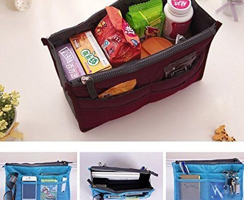 Purse Organizer Insert Women Travel Insert Handbag Liner Tidy Organise...