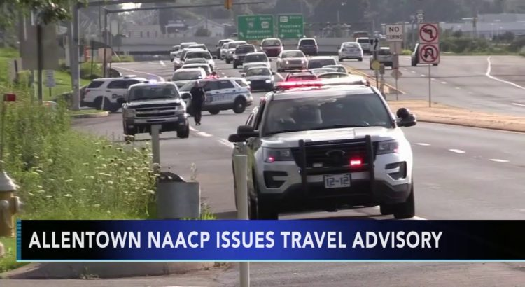 NAACP issues travel advisory after deadly police shooting near Dorney ...