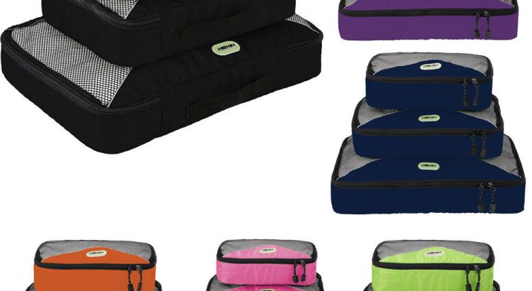 New Travel Bag Organizer Set Storage Waterproof Clothes Packing Cube L...