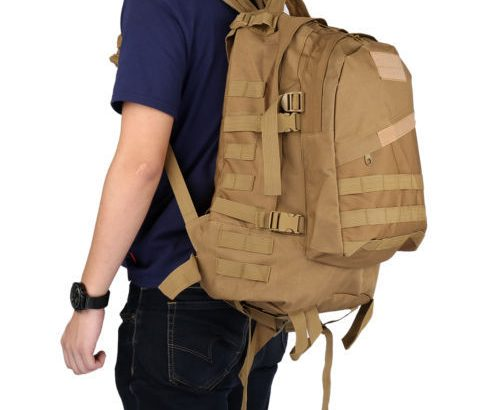 Travel Outdoor Military Tactical Backpack Molle Bag Rucksack Hiking Ca...