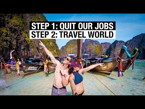 We QUIT OUR JOBS to TRAVEL THE WORLD