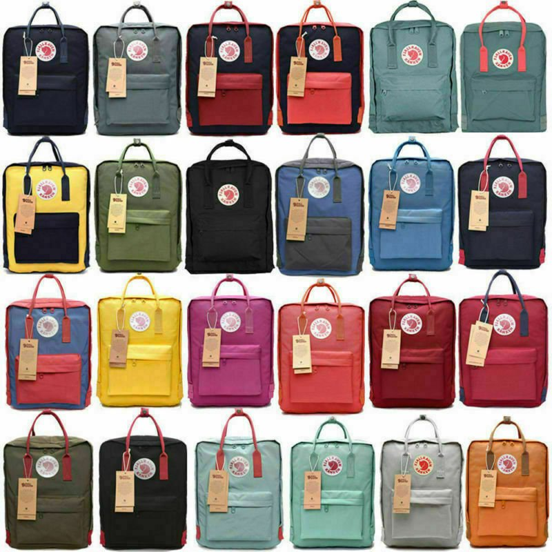 20L Large Fjallraven Kanken Waterproof sport Backpack School Bag Trave...