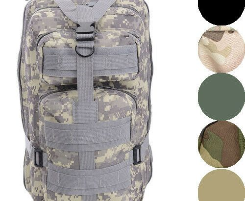 28L Military Molle Camping Backpack Tactical Camping Hiking Travel Bag...