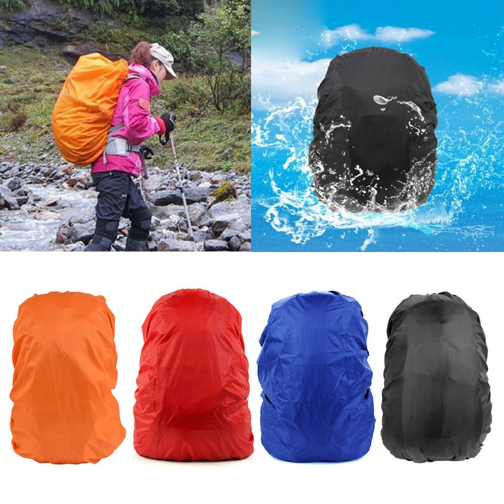 30-40L Waterproof Backpack Rucksack Rain Dust Cover Protector for Camp...