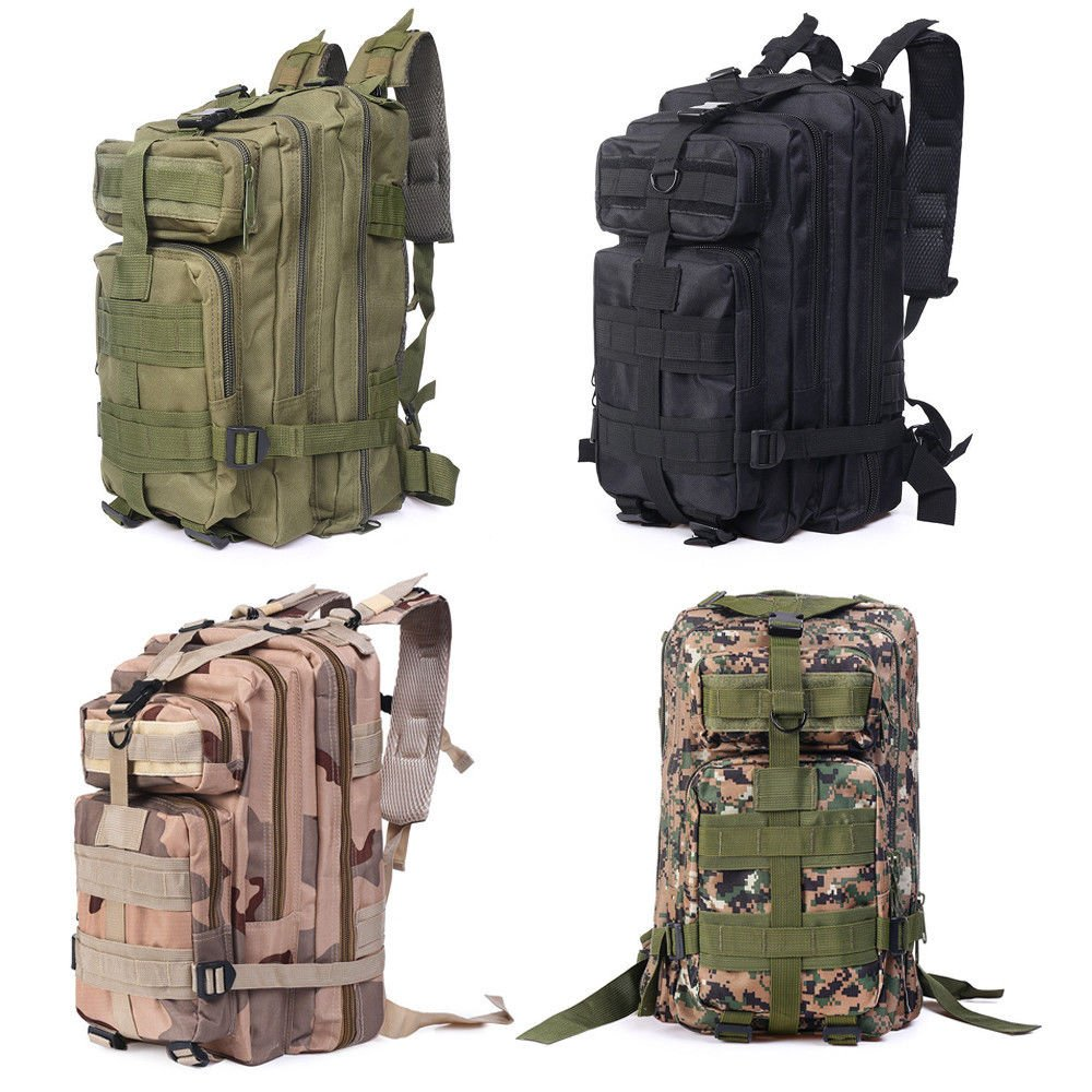 35L Molle Outdoor Military Tactical Bag Camping Hiking Trekking Backpa...