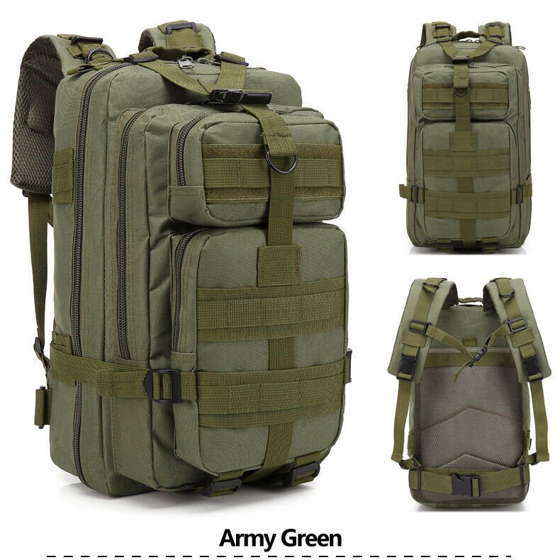 3P The Rucksack March Outdoor Tactical Backpack Shoulders Bag 3colour