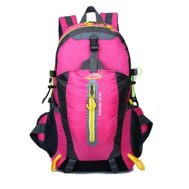 40L Outdoor Hiking Camping Waterproof Nylon Travel Luggage Rucksack Ba...