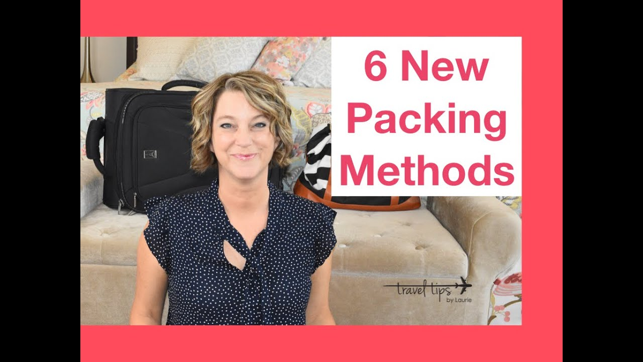 6 Packing Methods (Carry-On Suitcase Tips)