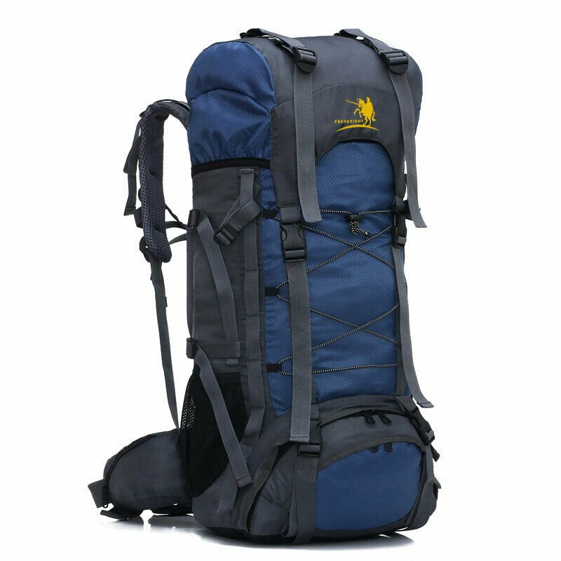 60L Outdoor Camping Hiking Climbing Large Bag Internal Frame Backpack ...