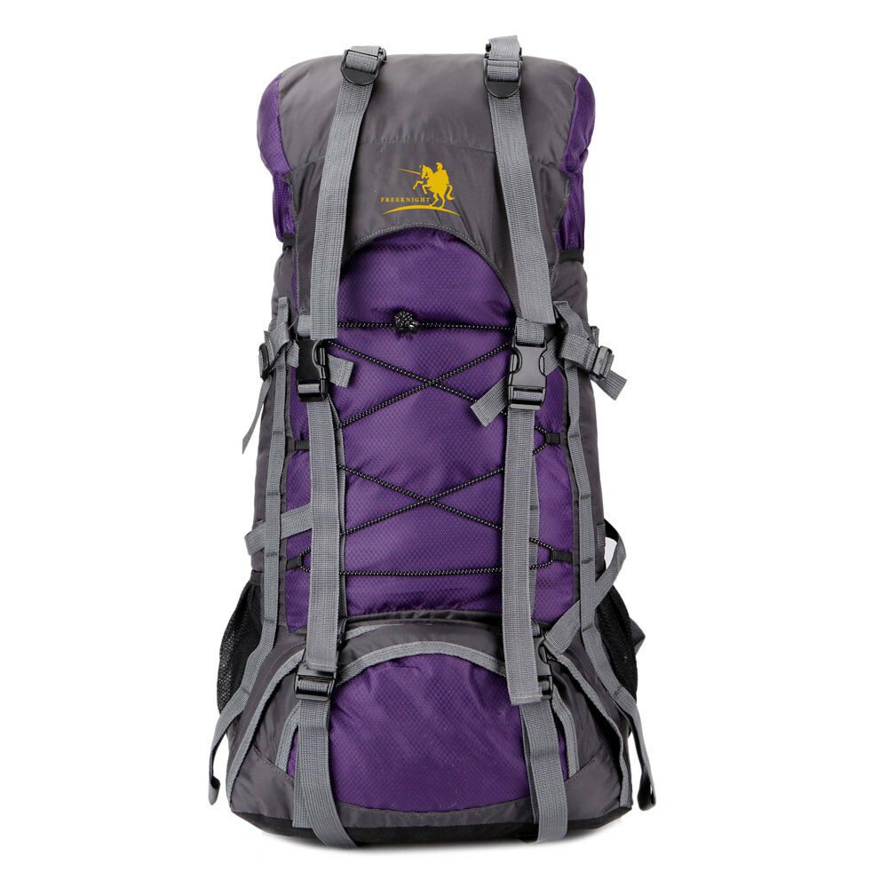 60L Sports Backpack Camping Travel Climbing Hiking Rucksack Shoulders ...