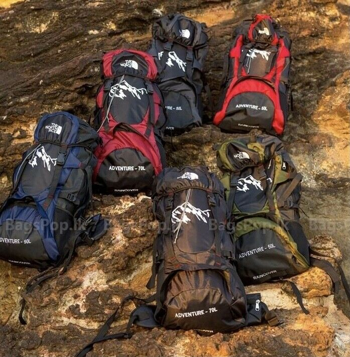 70L Backpack Traveling Hiking Camping Sports Waterproof