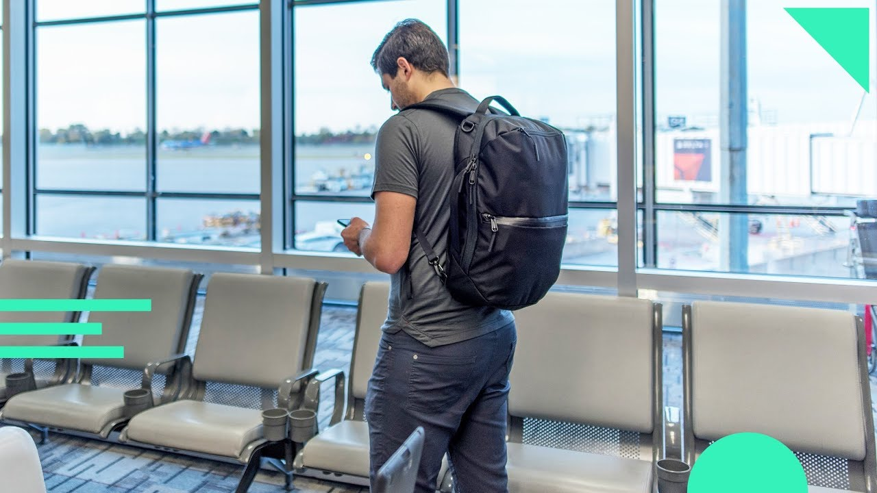 Aer Flight Pack Review | Small Carry-On Travel Backpack (23L) for Work...
