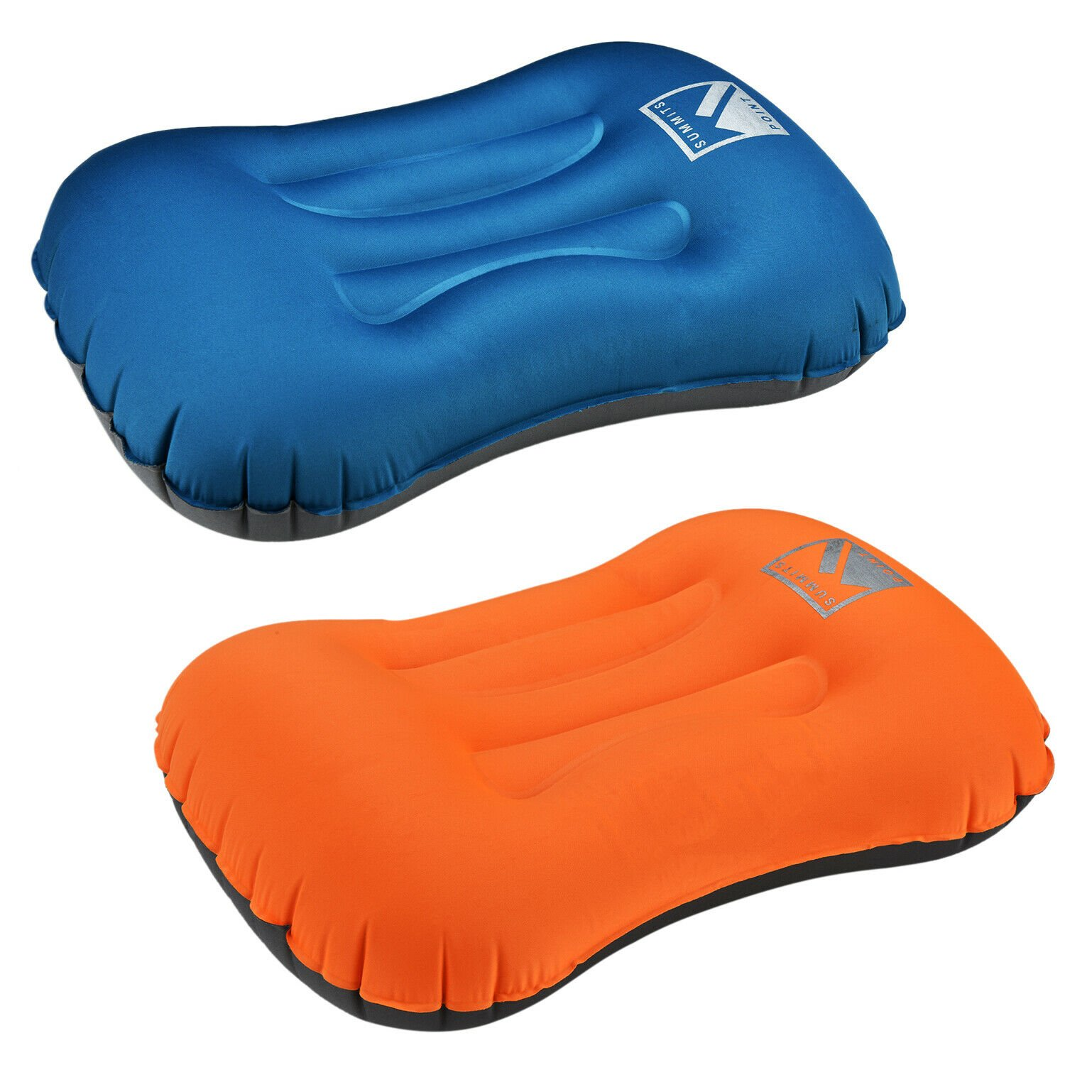 Air Pillow Inflatable Cushion Portable Head Rest Compact Travel Campin...