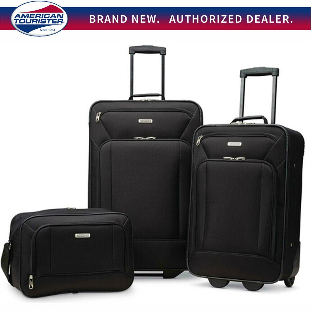 "American Tourister Fieldbrook XLT 3 Piece Luggage Set (21"" & 25"") ..."