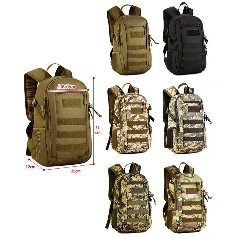 Backpack Bag Outdoor Military Tactical Travel Camo Camping Waterproof ...