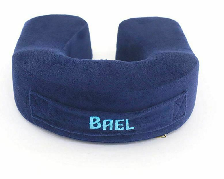 Bael Wellness Travel Neck Pillow Memory Foam Travel Pillow - Therapeut...