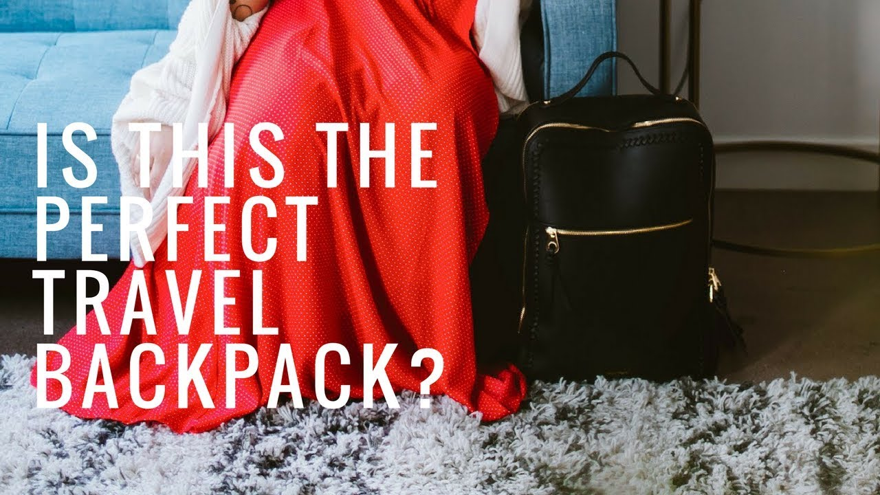 Best Travel Backpack?! Calpak Kaya Laptop Backpack Review | Alyssa Mop...